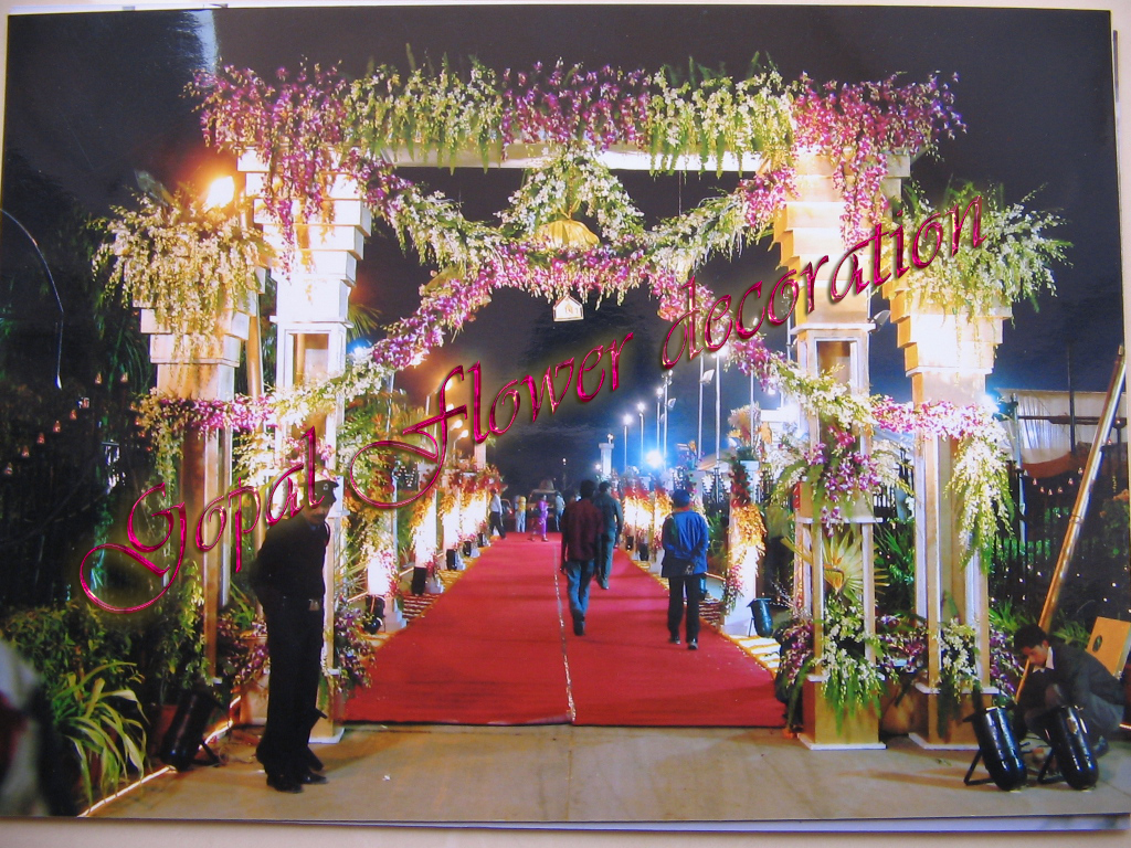 Flower Mandap Decoration Photos